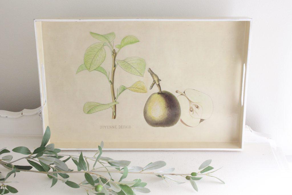 kitchen- pears- tray