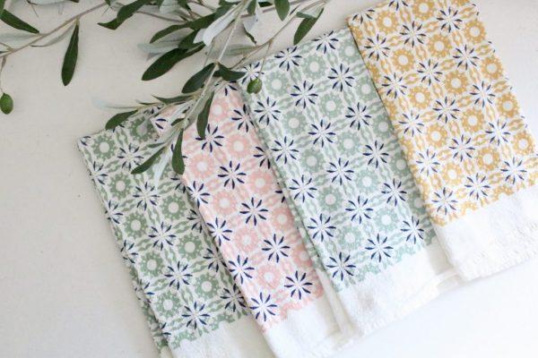 napkins- flour sack- table setting- kitchen- home decor