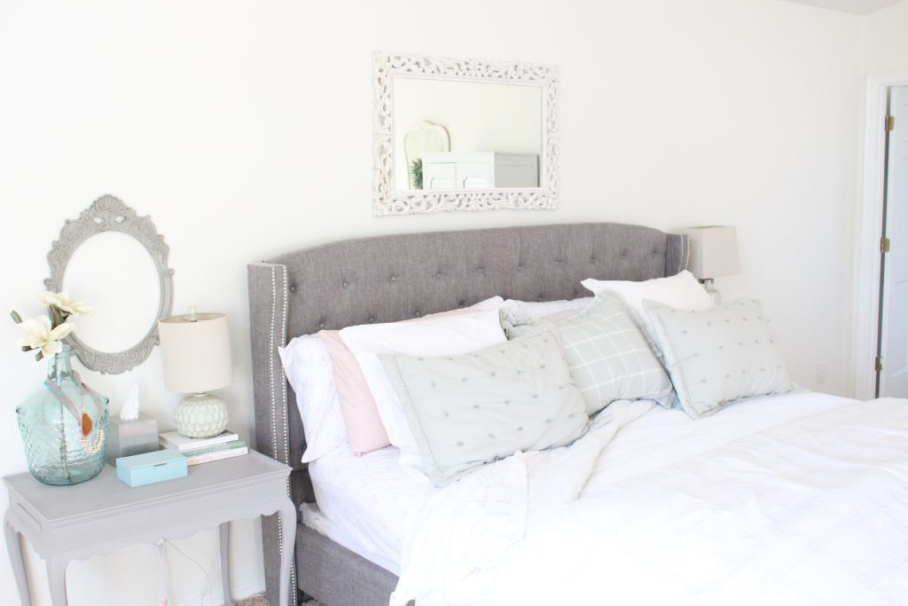 Simple Spring in Our Master Bedroom