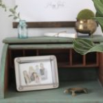 Small Desk Vignette to Fill a Nook