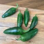 Homemade Green Tabasco Sauce