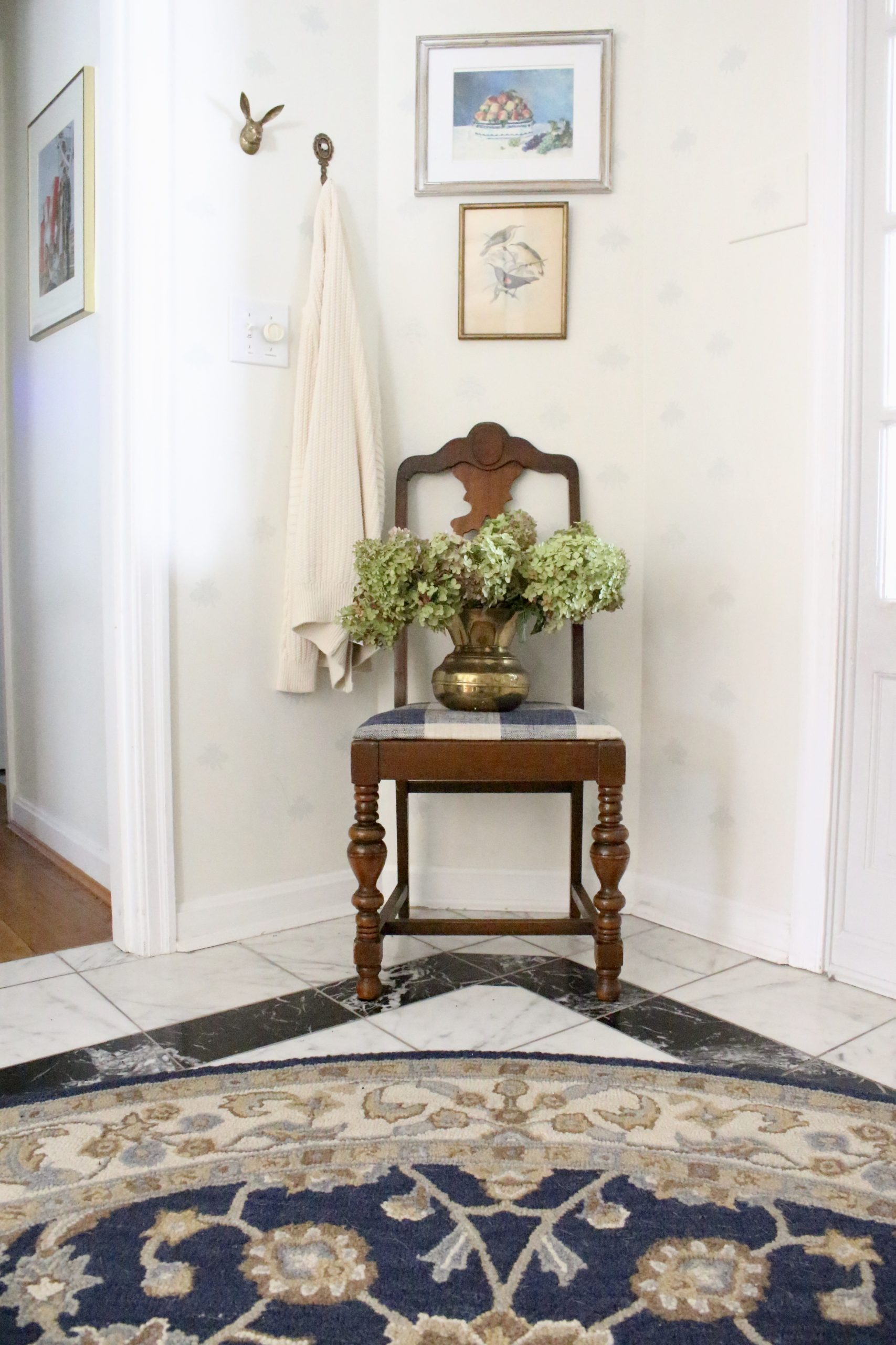 $100 Room Challenge Entryway~ White Cottage Home & Living