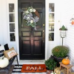 Farmhouse Fall Porch Decorating Ideas
