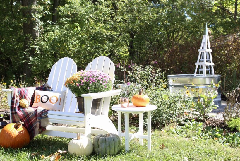 Fall in the Garden~ White Cottage Home & Living