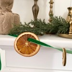 How to Make a Dried Fruit Garland | Nature Inspired Tree