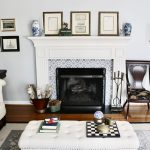 Fireplace Refresh With Smart Tile Peel & Stick Tiles