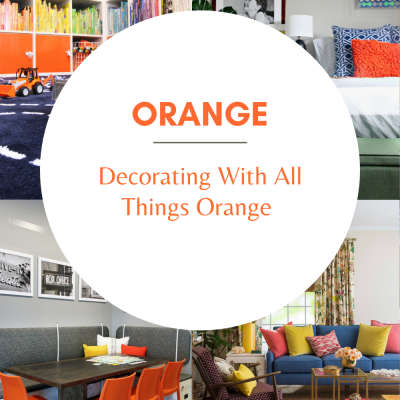 Decorating With All Things Orange