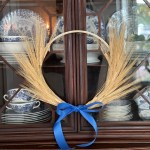 Simple Wheat Fall Wreath