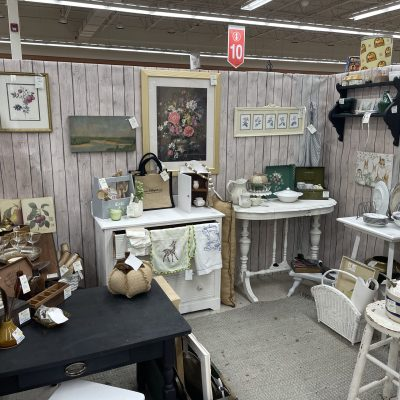 Booth Refresh Antique Store ~ White Cottage Home & Living