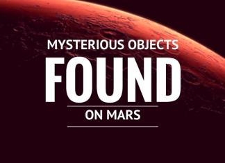 mysterious objects found mars