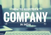 how to register company in india online
