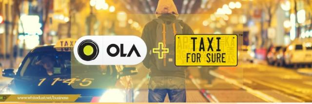 Attach cars with ola company