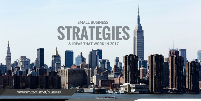 Small Business Strategies & Ideas That Work (2017)