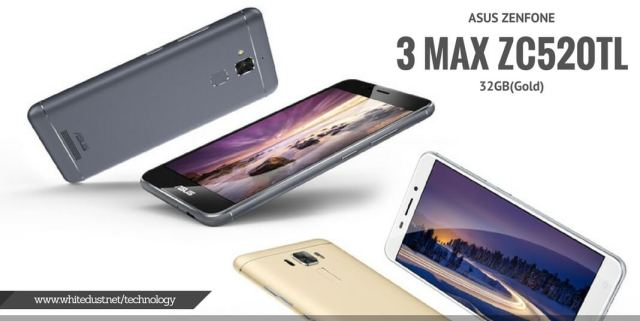ASUS ZENFONE 3 MAX ZC520TL 32GB(Gold)