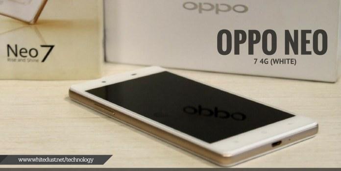 OPPO NEO 7 4G (WHITE)
