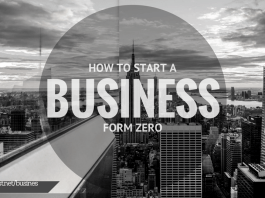 HOW TO START A BUSINESS FROM ZERO