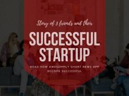 Short news app story