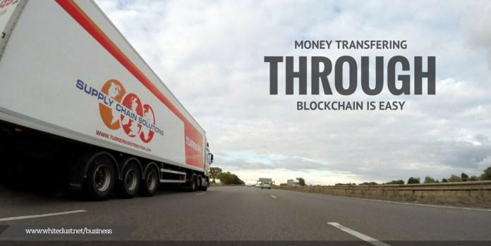 MONEY TRANSFER THROUGH BLOCKCHAIN