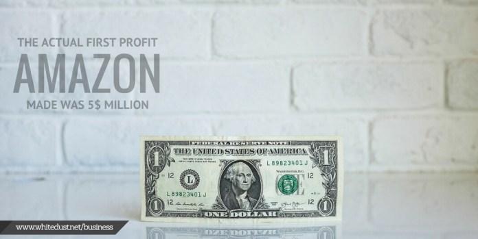 profit made by amazon