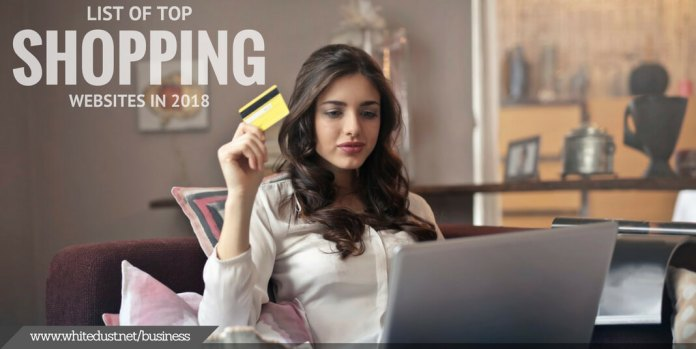 List of top shopping websites in 2018
