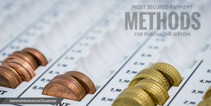 Most secured payment methods for purchasing bitcoin