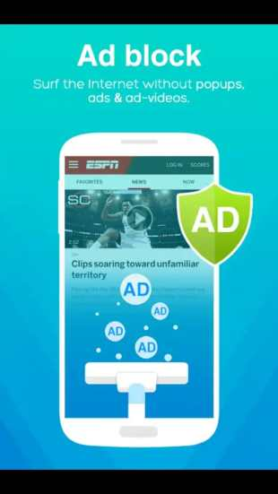 Dolphin Browser app