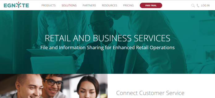Egnyte Connect Business Service