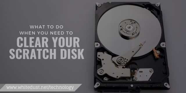 TIPS TO SOLVE PHOTOSHOP SCRATCH DISK FULL   WHITEDUST