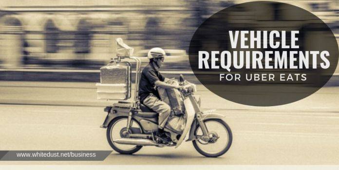 vehicle requirements for Uber Eats