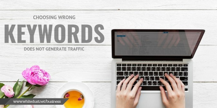 choosing wrong keywords
