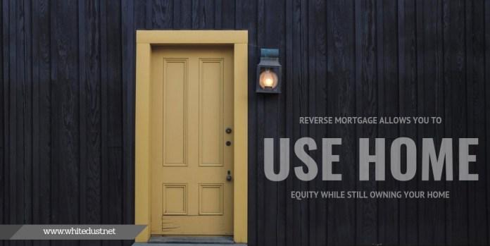 reverse mortgage advantages