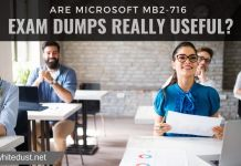ARE MICROSOFT MB2-716 EXAM DUMPS REALLY USEFUL?