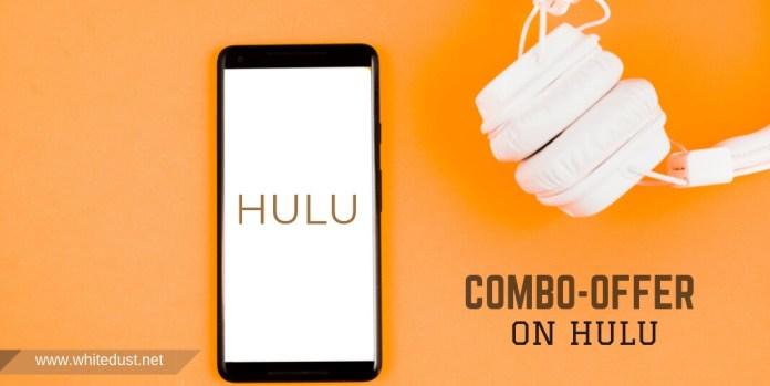 Combo-offer on Hulu