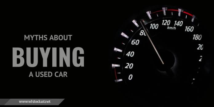 Myths about buying a used car