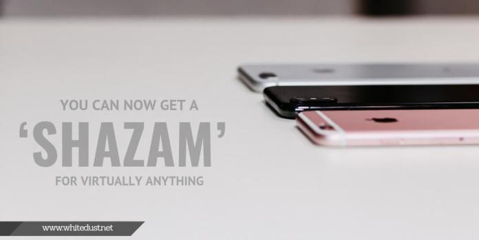 You Can Now Get a 'Shazam' For Virtually Anything