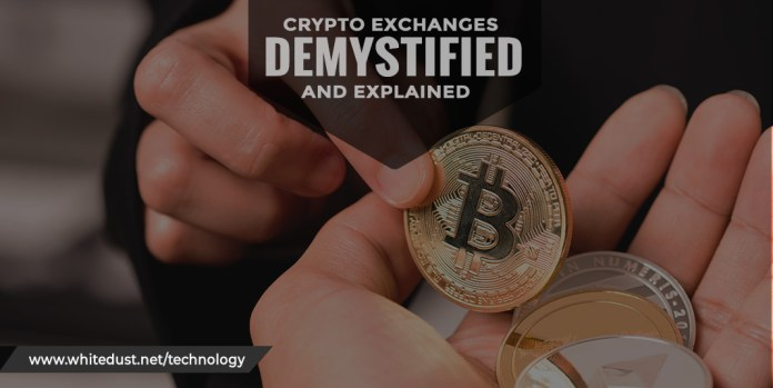 crypto exchanges: demystified and explained