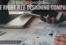 7 TIPS TO CHOOSING THE RIGHT WEB DESIGNING COMPANY