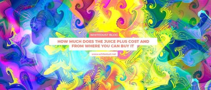 Juice plus benefits