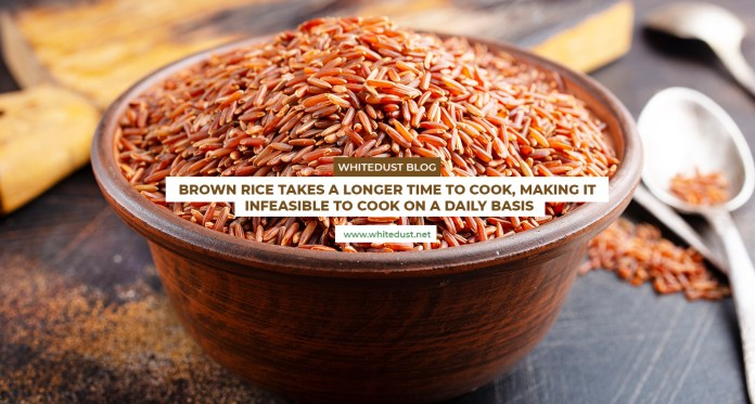 White rice vs brown rice nutrition