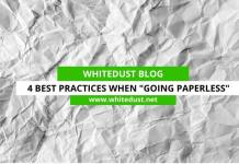 "4 Best Practices When ""Going Paperless"""