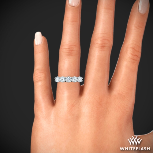 5 Stone Trellis Diamond Right Hand Ring 2316