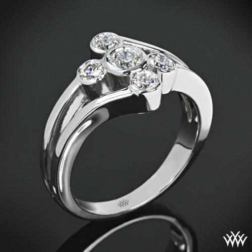 Diamond Tortoise Diamond Right Hand Ring 317