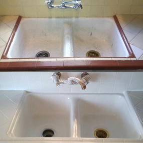 sink reglazing and refinishing in nyc