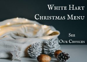 Christmas Menu 2018, The White Hart Inn, Trudoxhill, Frome