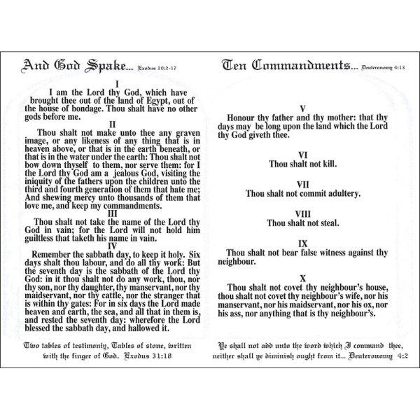 10 commandments of god # 38