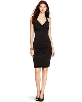 Instantly Slimming Little Black Dress
