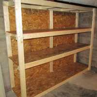 How to Make a Basement Storage Shelf