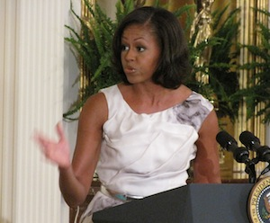 Michelle Obama East Room