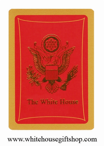 Cards Presidential Eagle Seal Red Poker