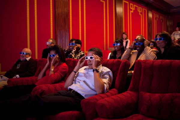 Image result for white house movie theater